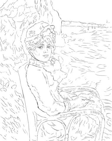 renoir coloring pages welcome to dover publications dover masterworks color pages renoir coloring