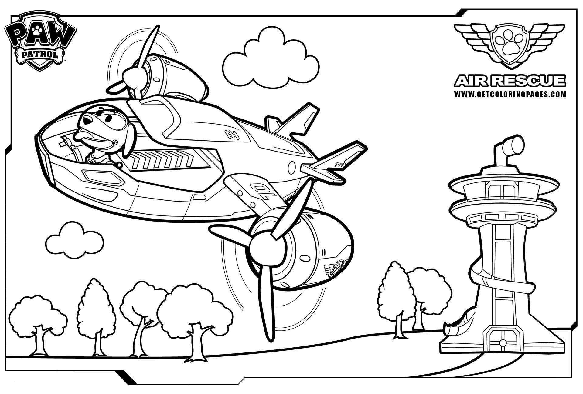 rescue dog coloring pages ausmalbilder paw patrol air patroller dog rescue pages coloring