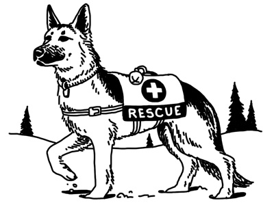 rescue dog coloring pages rescue dog 2 by steve lowtwait on dribbble rescue pages dog coloring