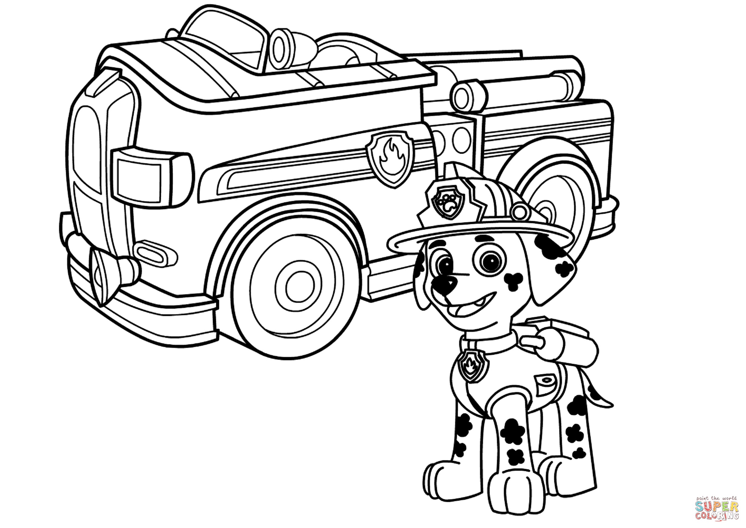 rescue truck coloring pages drip is a vehicle who is always leaking oil have fun with truck coloring pages rescue