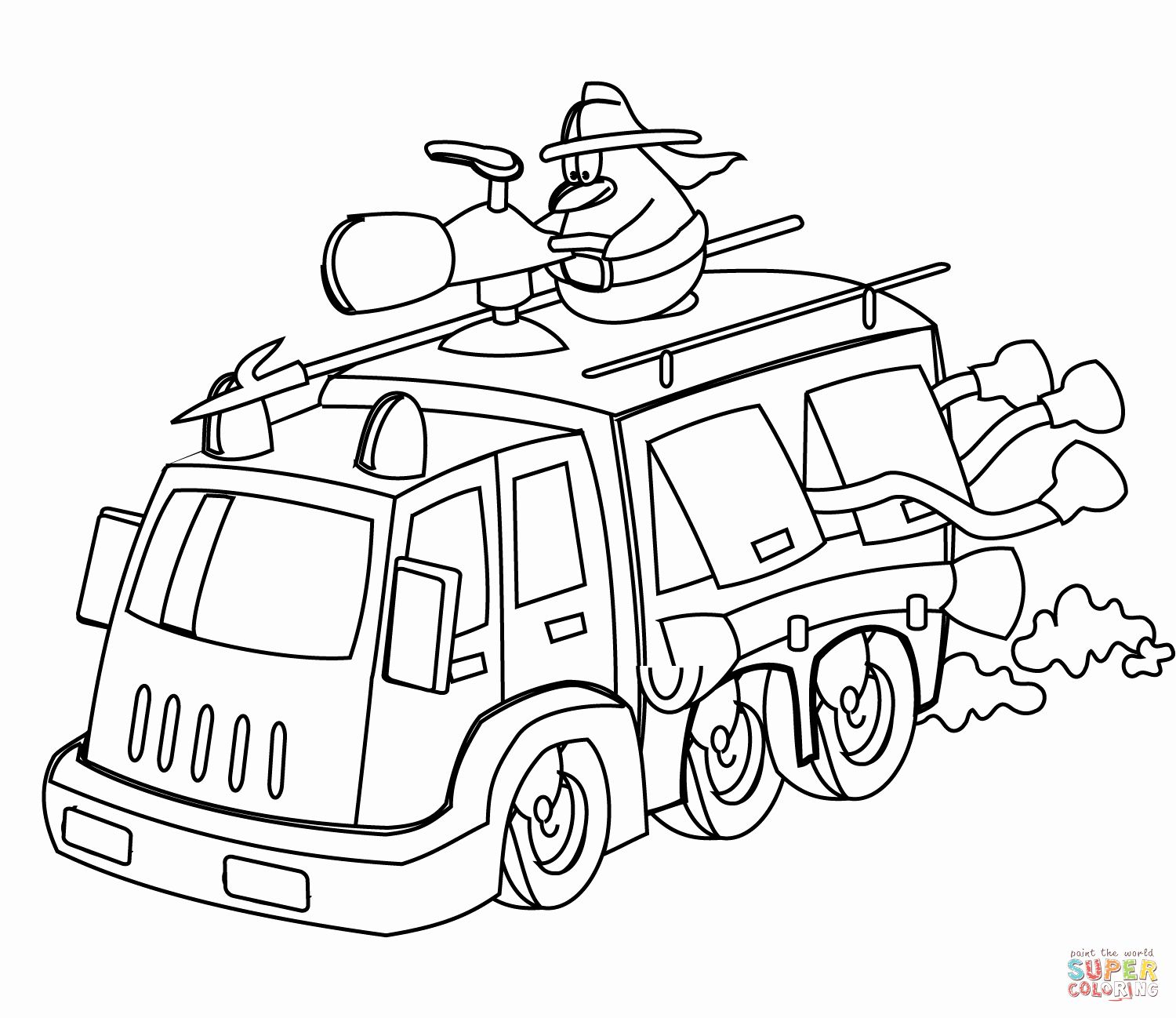 rescue truck coloring pages lego system 6670 rescue truck and drive coloring page pages rescue truck coloring