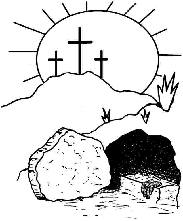 resurrection coloring pages religious easter coloring pages for preschoolers at resurrection coloring pages