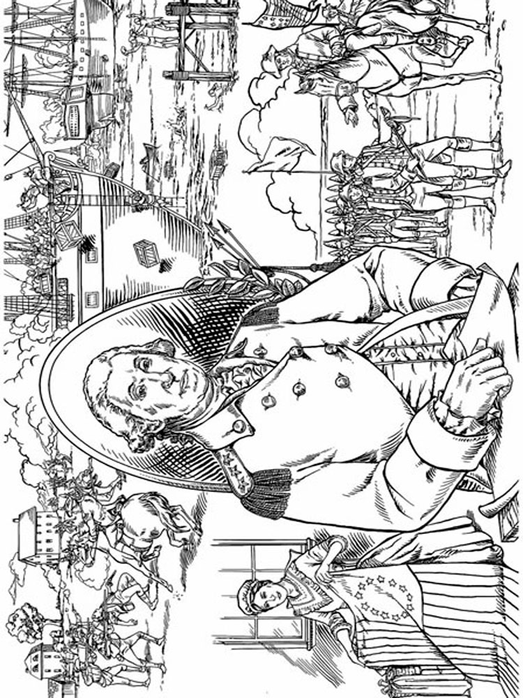 revolutionary war coloring pages revolutionary war soldier coloring page coloring home coloring revolutionary war pages