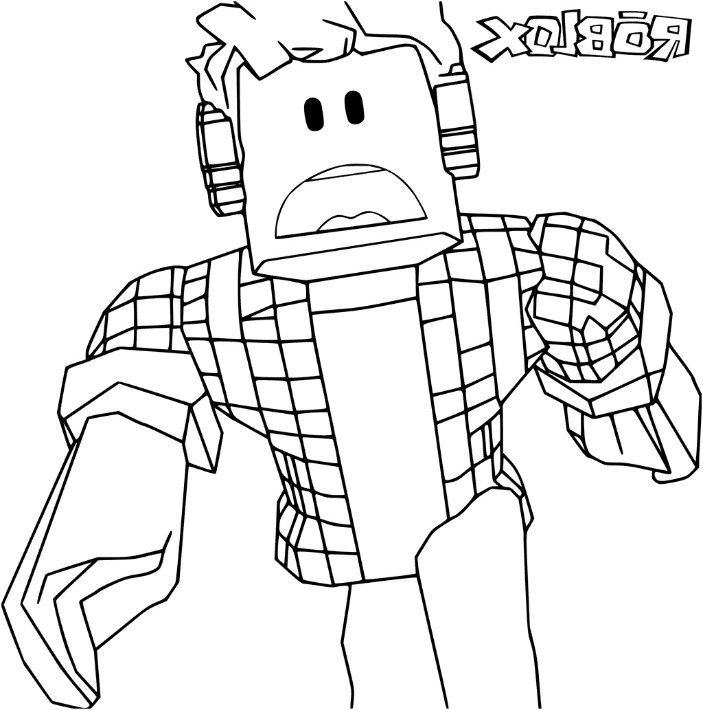 roblox coloring images free printable roblox coloring pages scribblefun images roblox coloring