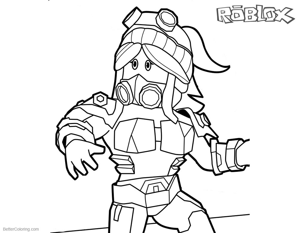roblox coloring images roblox girl coloring pages free printable coloring pages coloring images roblox