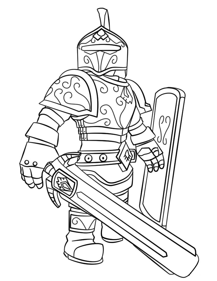 roblox coloring images roblox knight coloring play free coloring game online coloring roblox images