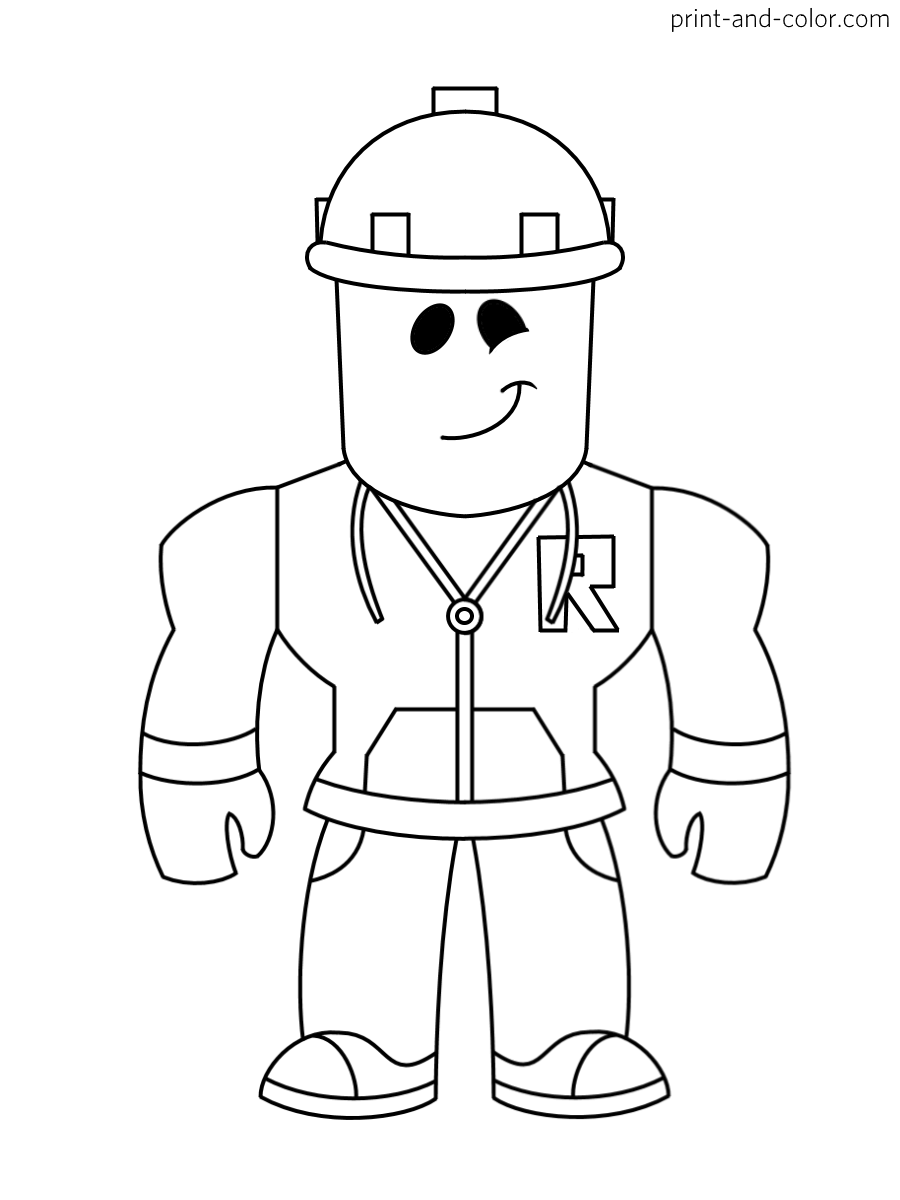 roblox coloring images roblox robot coloring page free printable coloring pages roblox images coloring