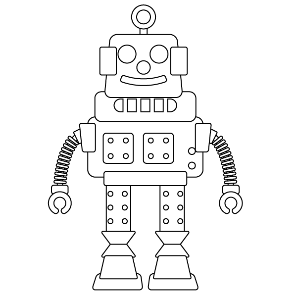 robot coloring picture coloring page robot gamma robot picture coloring