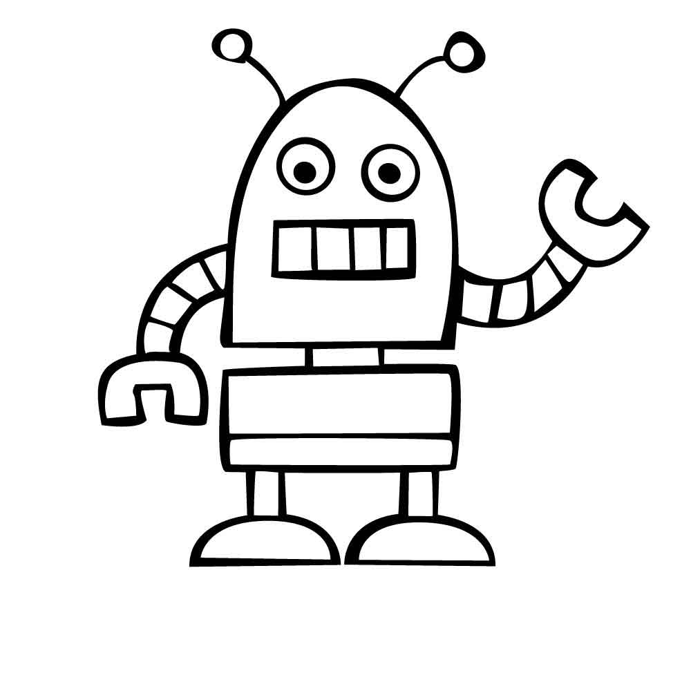 robot for coloring robot coloring pages for students educative printable robot coloring for