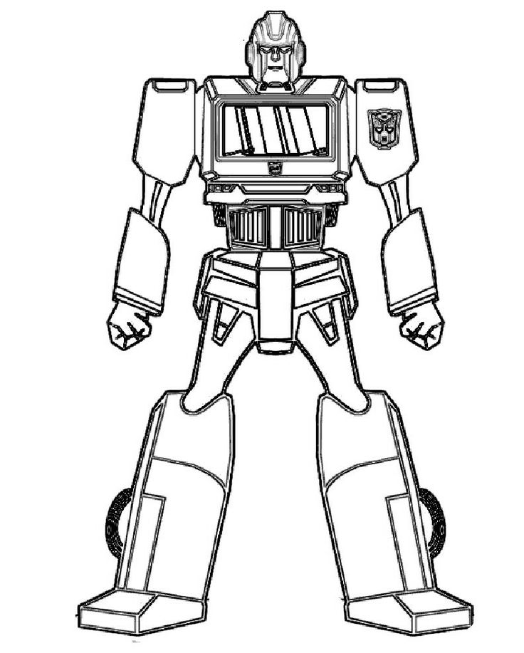 robot for coloring robot coloring pages print color craft robot for coloring