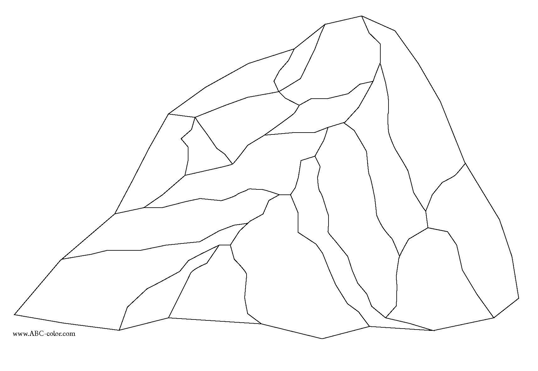 rock coloring pages beautiful rocks and minerals coloring pages free top pages coloring rock