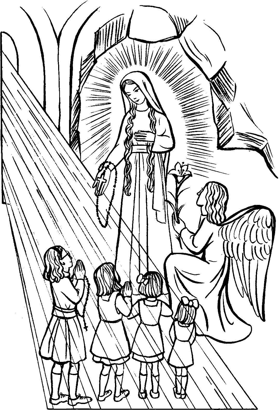 rosary coloring page 45 best catholic coloring pages images on pinterest coloring page rosary