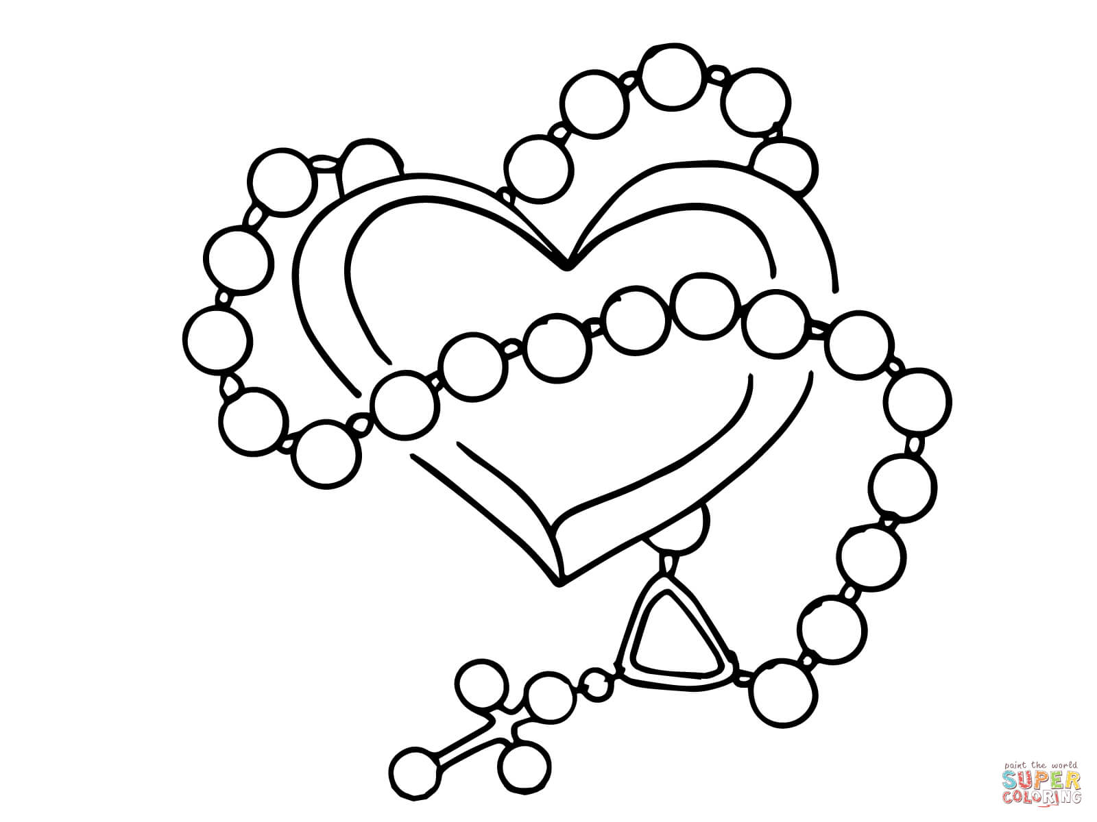 rosary coloring page joyful mysteries rosary coloring pages the catholic kid rosary coloring page