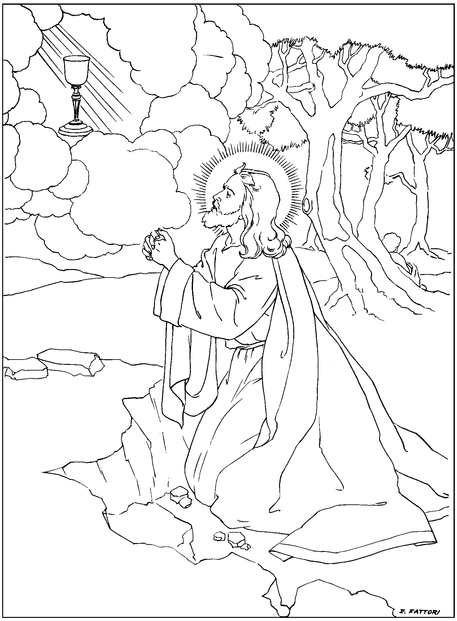 rosary coloring page our lady of the rosary catholic coloring page feast day is rosary coloring page