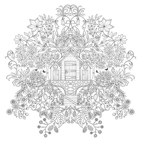 rose garden coloring page rose coloring pages for adults secret garden by johanna rose coloring page garden