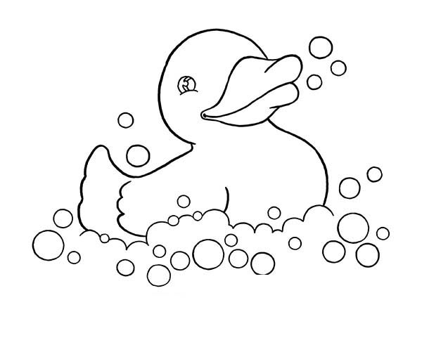 rubber ducky coloring page rubber duck outline free download on clipartmag rubber page coloring ducky