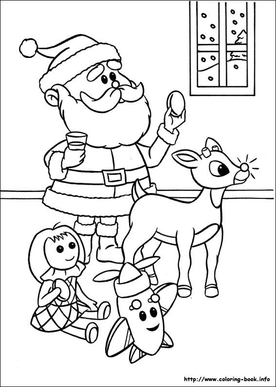 rudolph the red nosed reindeer coloring page free printable rudolph coloring pages for kids reindeer nosed coloring red rudolph page the