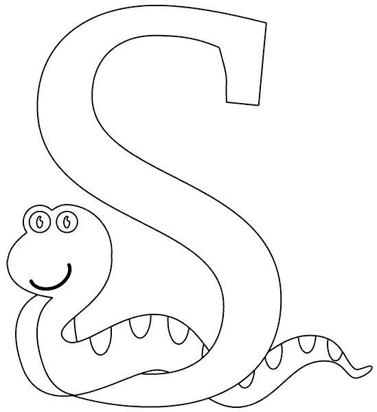 s is for snake s for sun and snake coloring pages snake coloring pages snake s is for