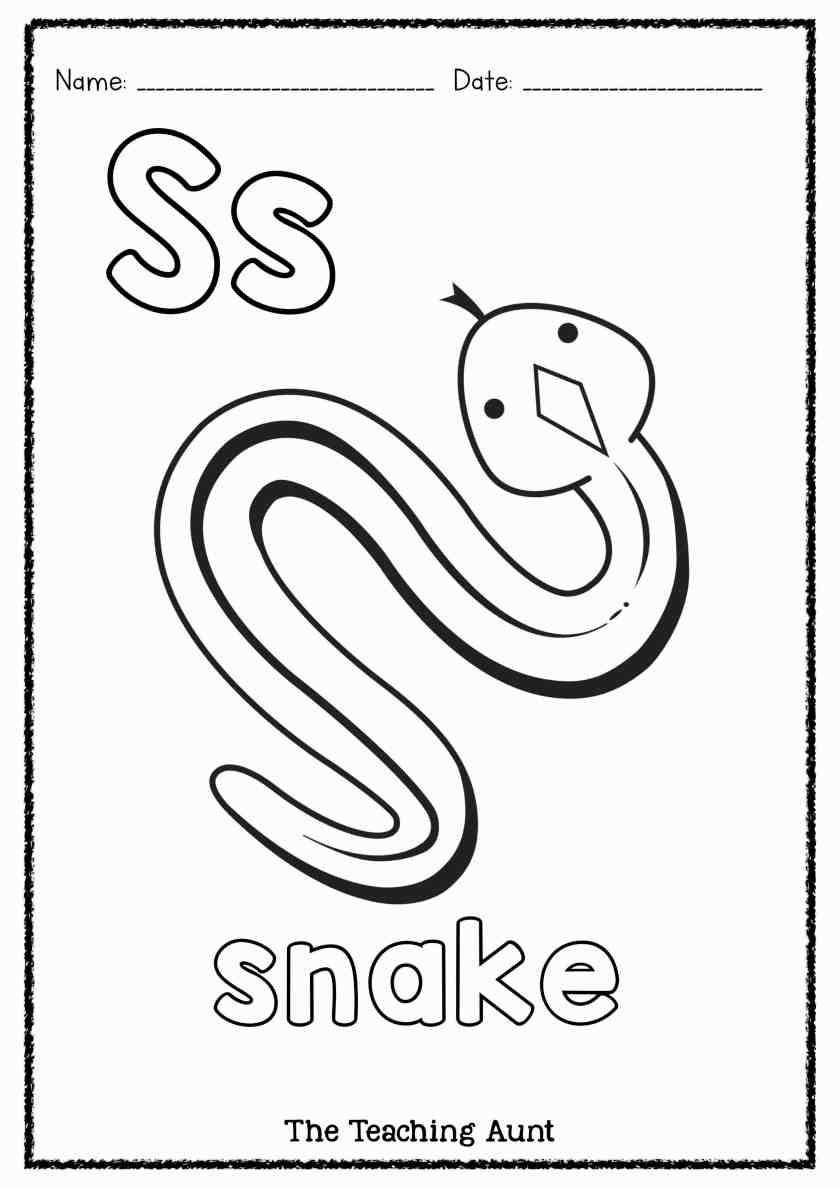 s is for snake s is for snake worksheet twisty noodle snake for s is