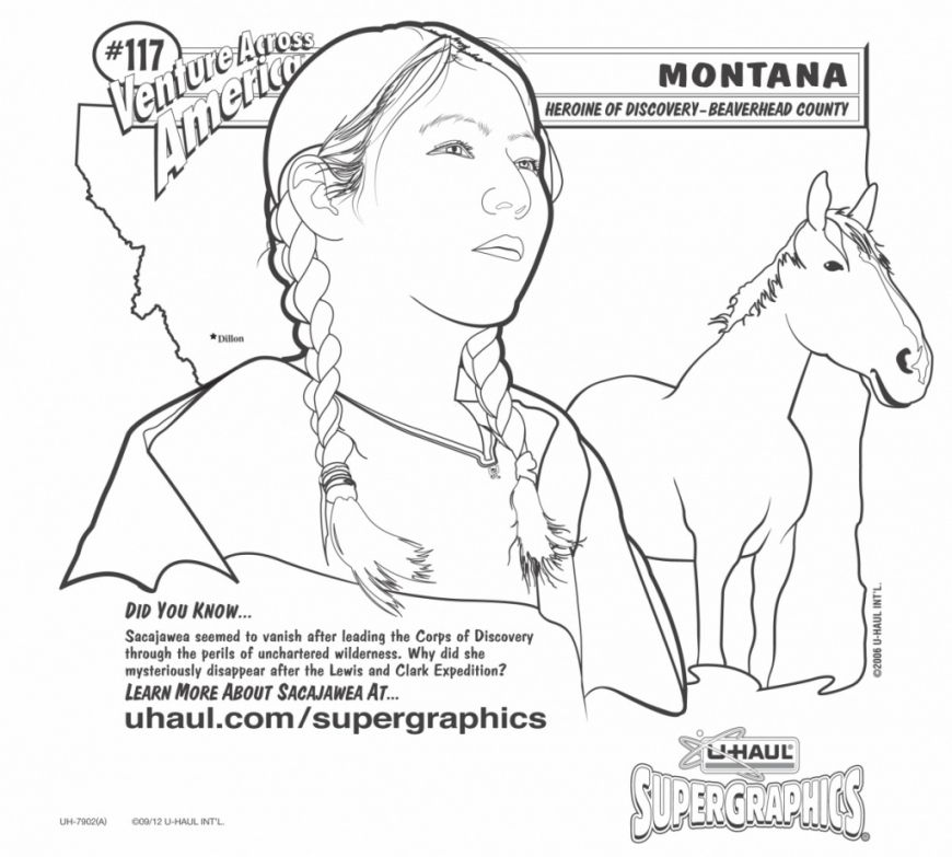 sacagawea coloring page online coloring pages starting with the letter s page sacagawea coloring
