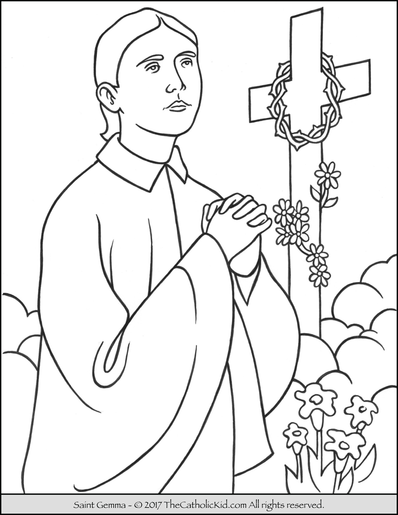 saints coloring pages saints coloring pages catholic playground pages saints coloring