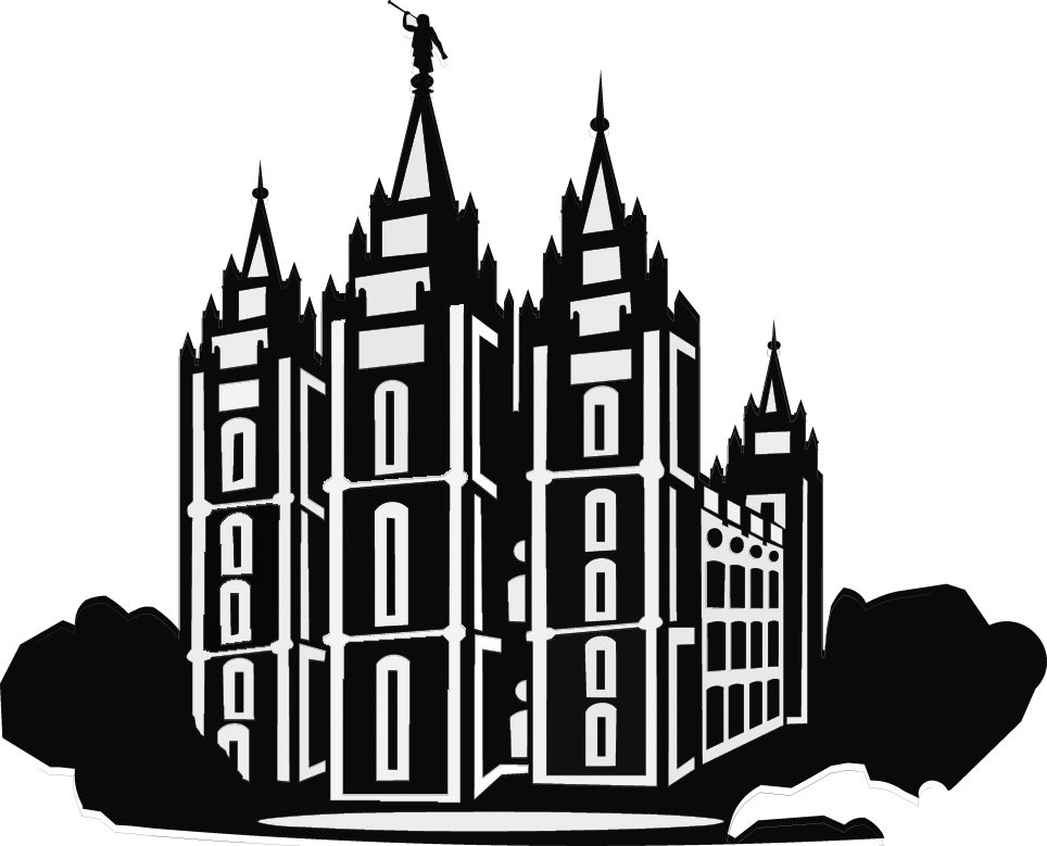 salt lake temple silhouette clip art library of simple lds temple clip art black and white temple silhouette art salt lake clip