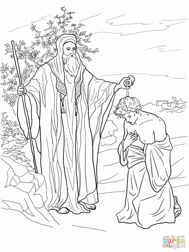 samuel anoints david king coloring page creative streams bible coloring pages for kids anoints coloring samuel david page king
