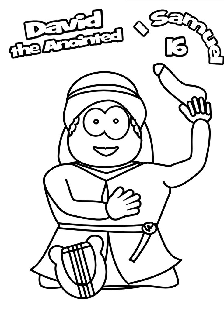 samuel anoints david king coloring page samuel anoiting saul as king in king saul coloring page anoints coloring king page samuel david