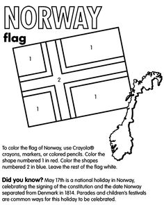scandinavian flags coloring 50 norwegian related activities ideas norway norwegian scandinavian flags coloring