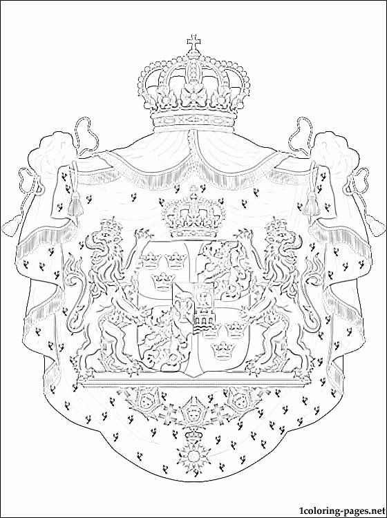 scandinavian flags coloring swedish flag coloring page luxury sweden coat of arms coloring flags scandinavian