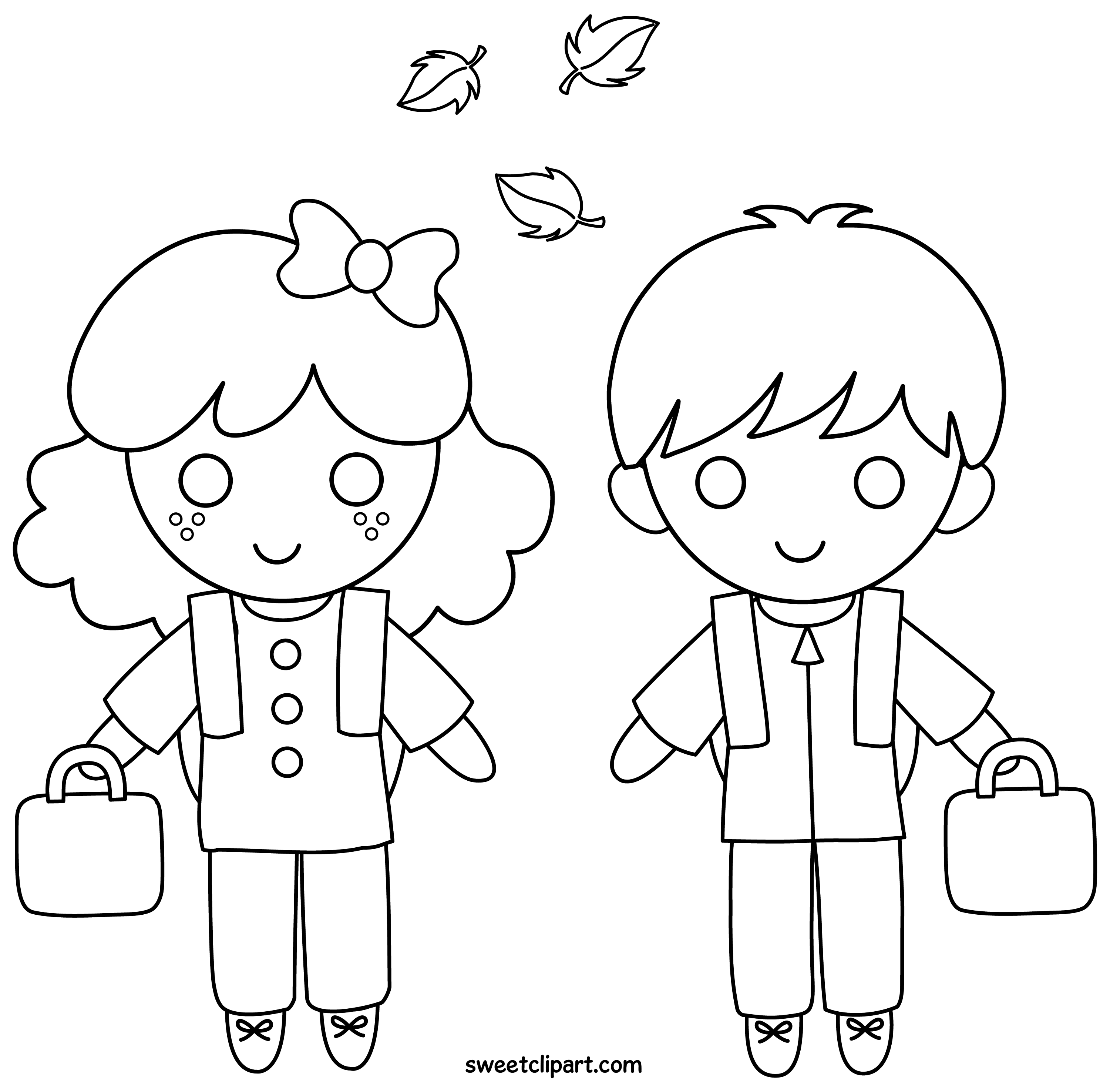 school clipart coloring child at school coloring page coloring home coloring clipart school