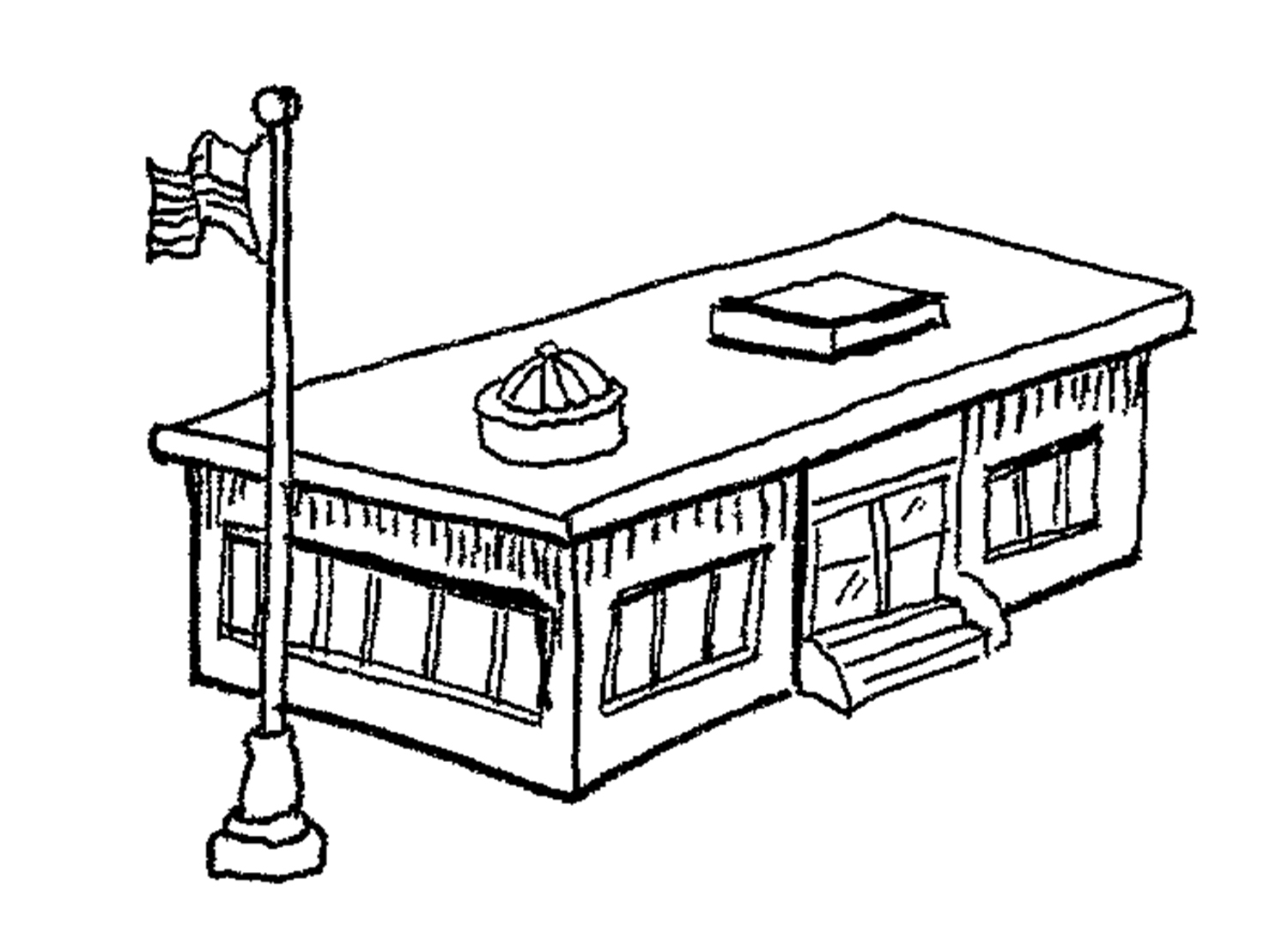 school clipart coloring school house outline free download on clipartmag clipart coloring school