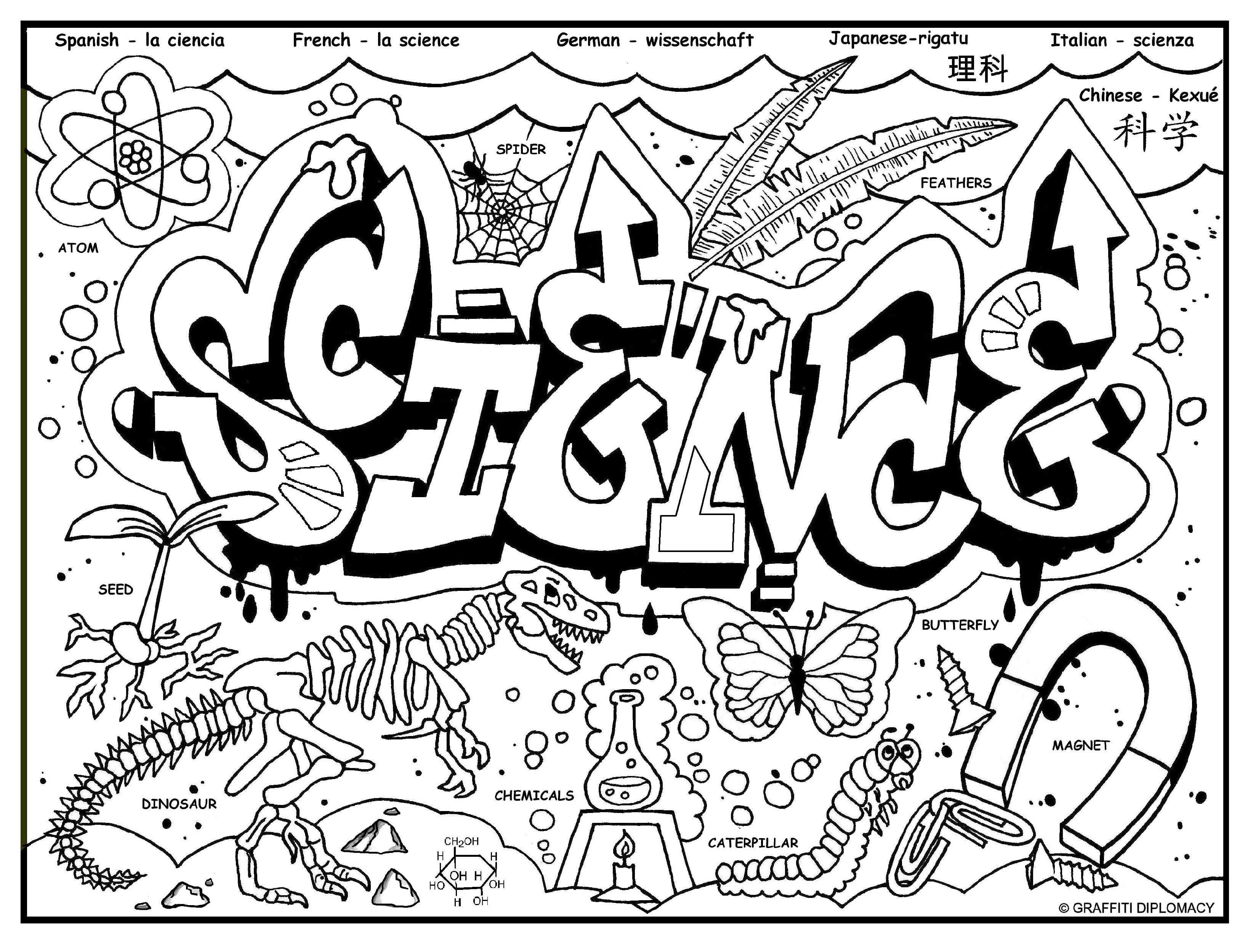 science coloring sheet science coloring page getcoloringpagescom sheet coloring science