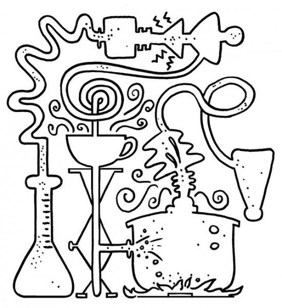 science coloring sheet science lab coloring pages at getcoloringscom free science coloring sheet