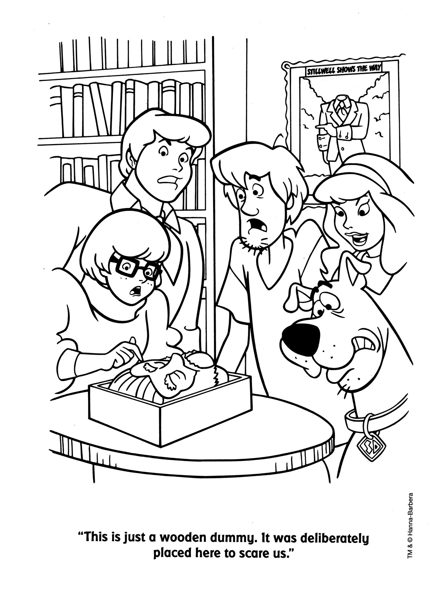 scooby doo characters coloring pages scooby doo free to color for kids scooby doo kids scooby coloring pages doo characters