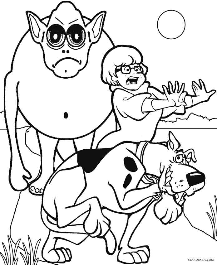 scooby doo pictures to print scooby doo coloring pages scooby doo to pictures print