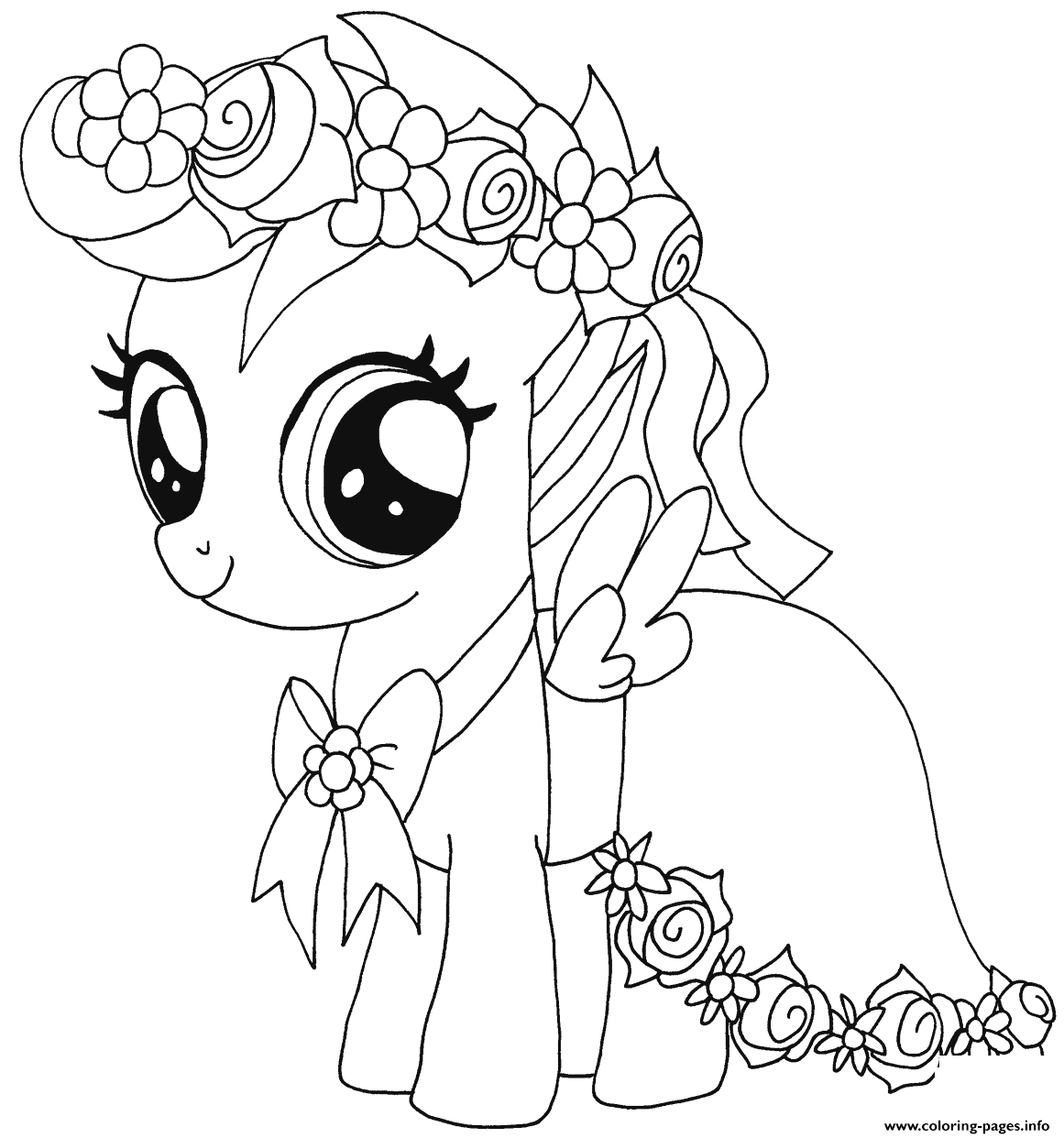 scootaloo coloring page apple bloom drawing at getdrawings free download page scootaloo coloring