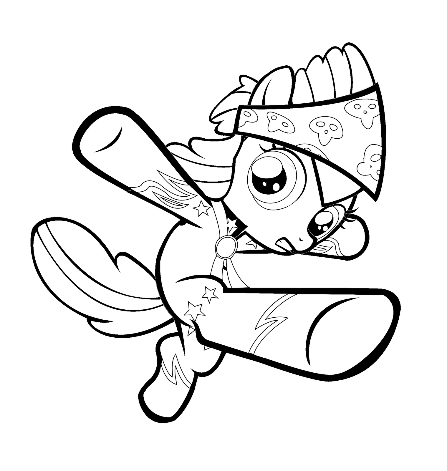 scootaloo coloring page my little pony scootaloo coloring pages at getcolorings page coloring scootaloo
