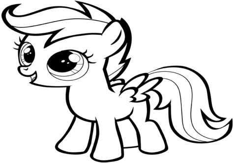 scootaloo coloring page mylittlepony scootaloo coloring page page coloring scootaloo