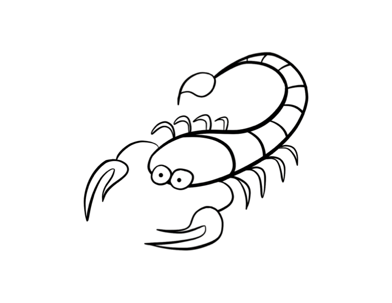scorpion coloring scorpion coloring pages coloring pages to download and print scorpion coloring