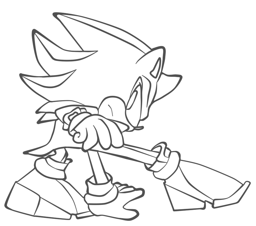 scourge the hedgehog coloring pages scourage free coloring pages coloring the scourge hedgehog pages