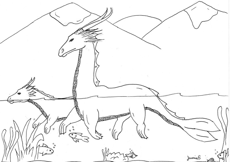 sea dragon coloring pages sea dragon coloring page animals town animals color dragon sea coloring pages