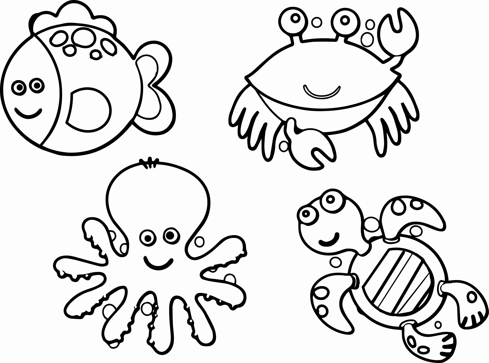 sea life animals coloring pages marine animal coloring pages life pages sea coloring animals