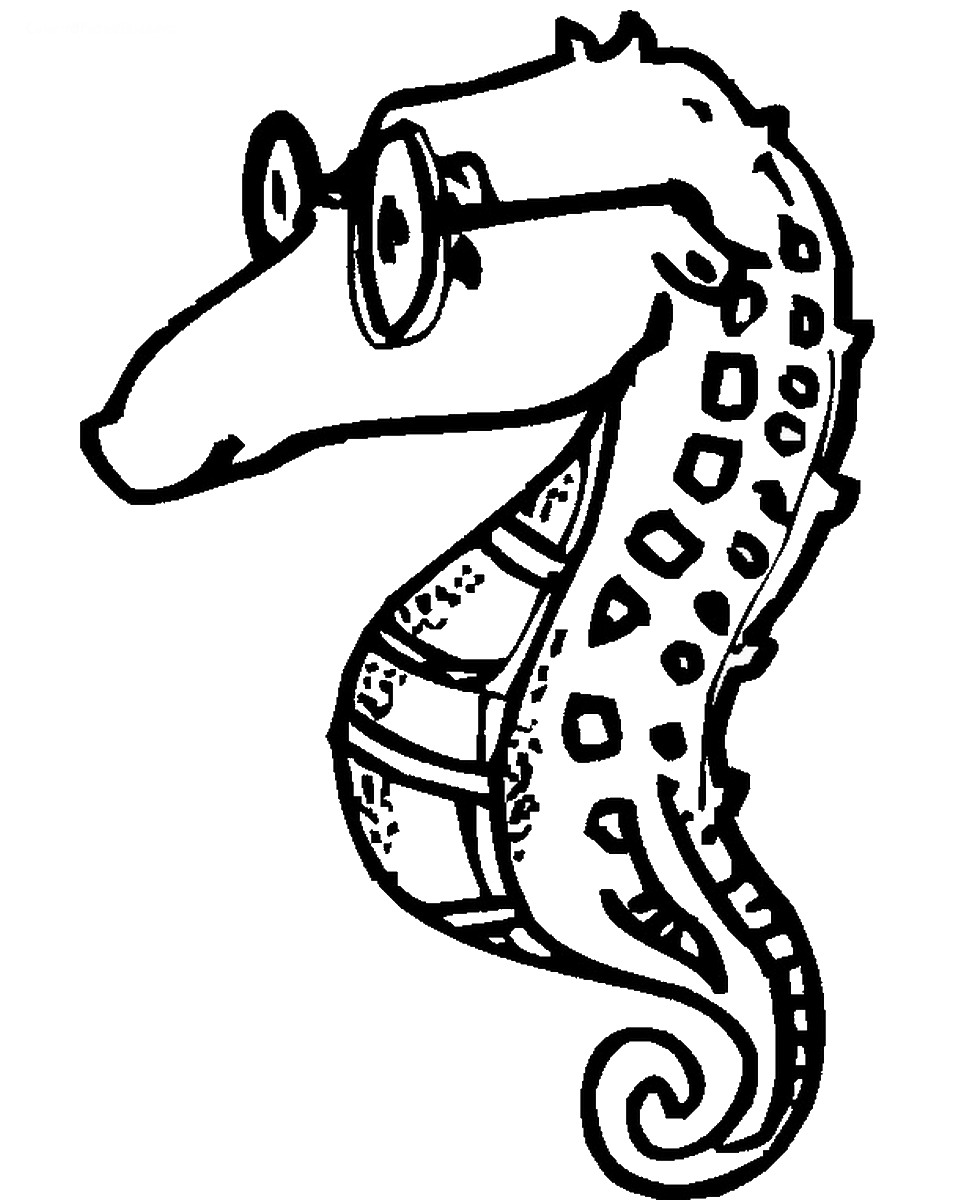 seahorse images for coloring colorful seahorse adult coloring page favecraftscom seahorse for coloring images