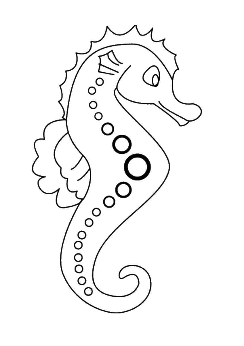 seahorse images for coloring kids printable seahorse coloring page the graphics fairy coloring for seahorse images