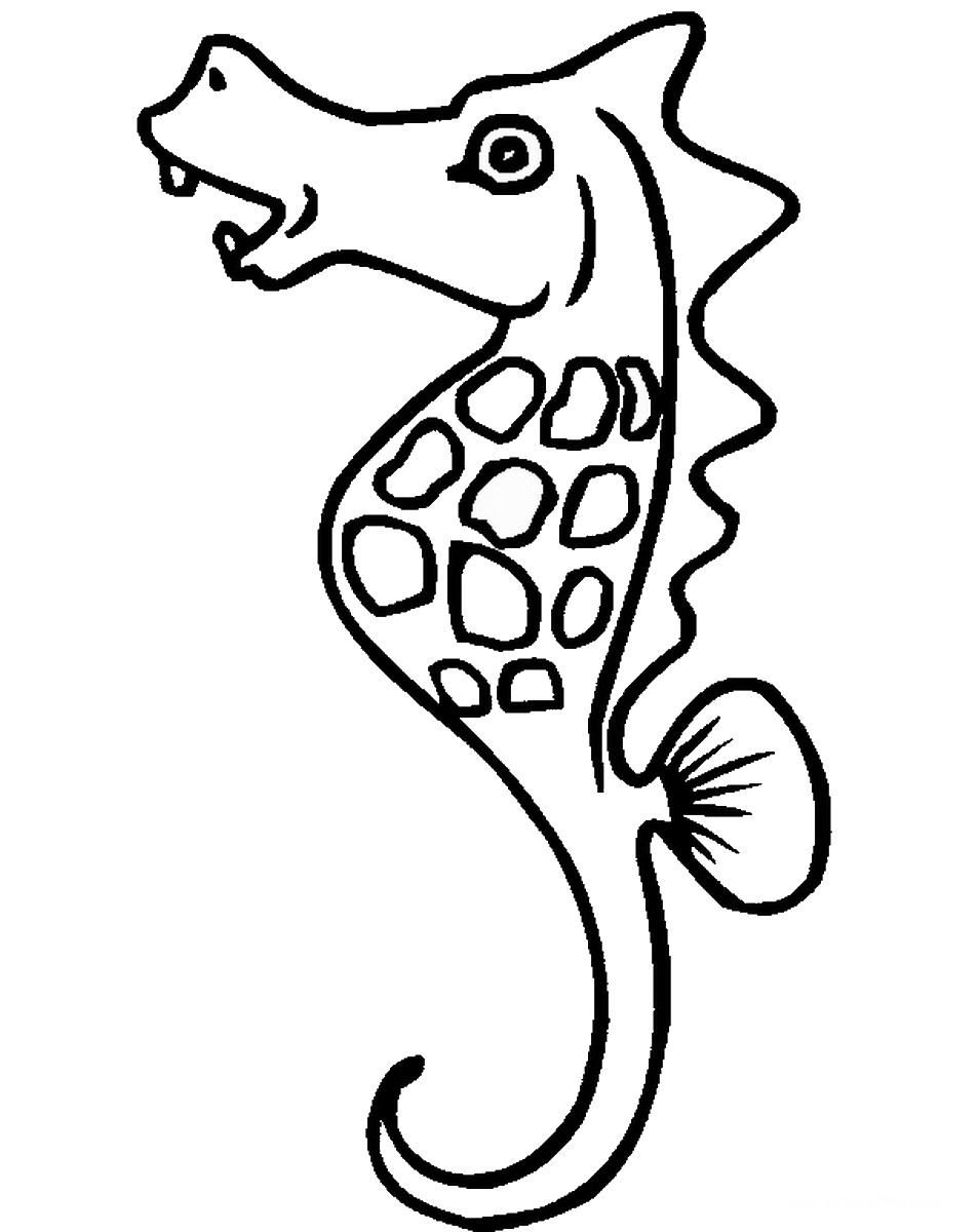 seahorse images for coloring sea horse coloring pages coloring pages to download and for coloring seahorse images
