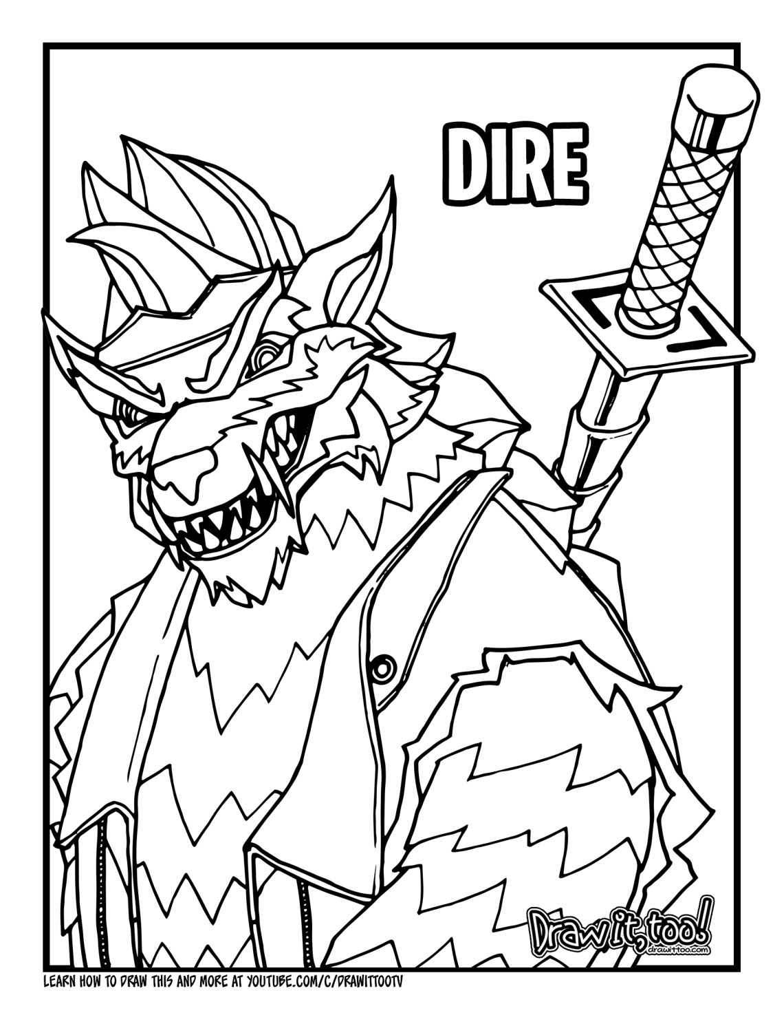 season 6 fortnite coloring pages how to draw dire max level fortnite drawing tutorial fortnite pages season coloring 6