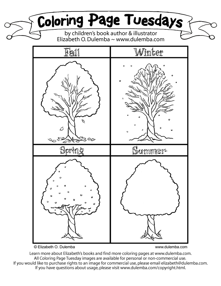 seasons coloring pages 16 best images of seasons worksheet pages free printable coloring seasons pages