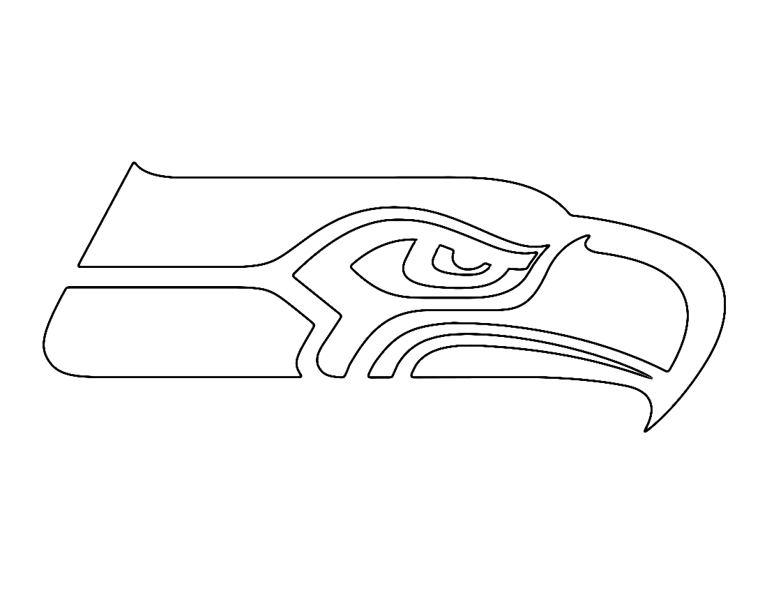 seattle seahawks color pages nfl seattle seahawks coloring page coloring page central color seahawks seattle pages