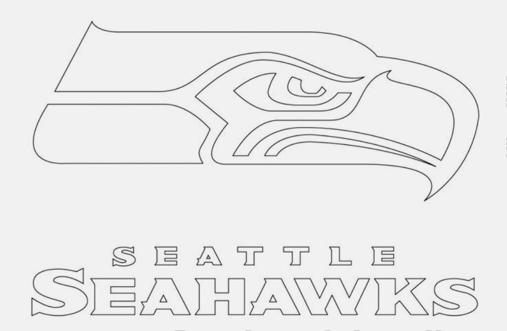 seattle seahawks color pages seattle seahawks coloring pages at getdrawings free download seahawks seattle color pages